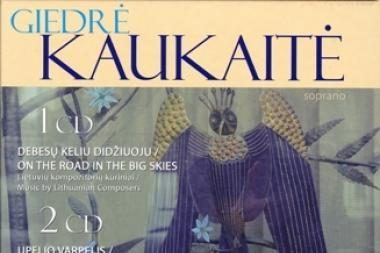 Vilniaus paveikslų galerijoje pristatomas G.Kaukaitės albumas