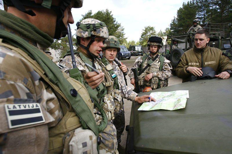 Baltijos šalių pajėgų vadai Vilniuje pasirašė susitarimą