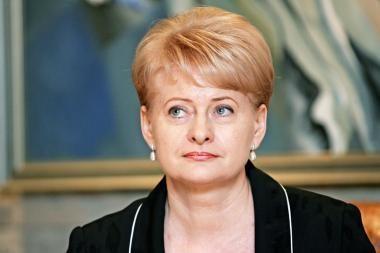 D.Grybauskaitė - palankių nuomonių rekordininkė