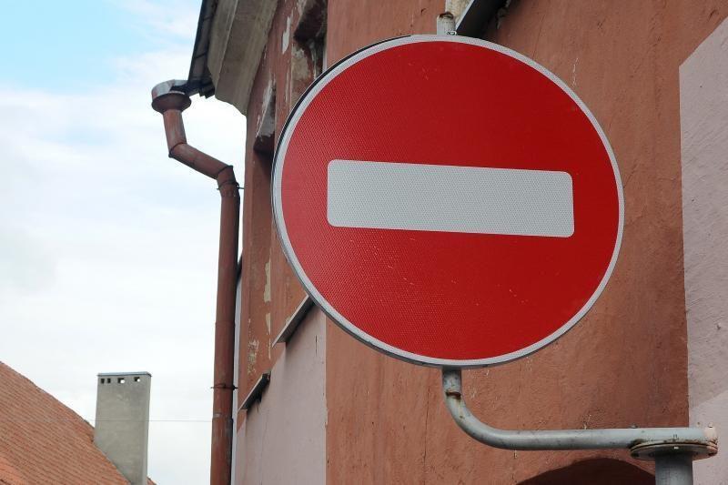 Valstybės dieną - laikini eismo ribojimai