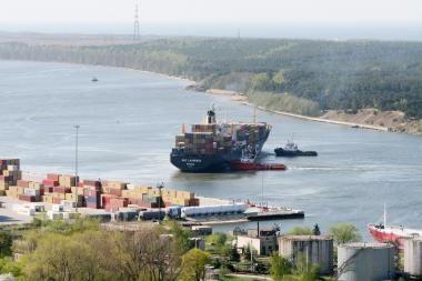 Būsimieji jūrininkai susipažins su uostu