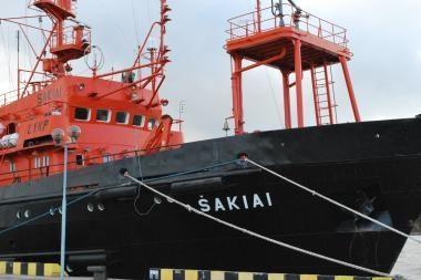 """Laivas """"Šakiai"""" atiteks kariškiams"""