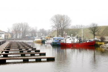 Mažųjų laivelių iš Pilies uosto neišvijo