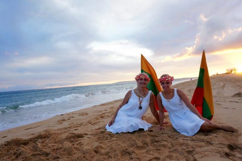 """""""Tautiška giesmė"""" kelionę aplink pasaulį baigė Havajuose"""