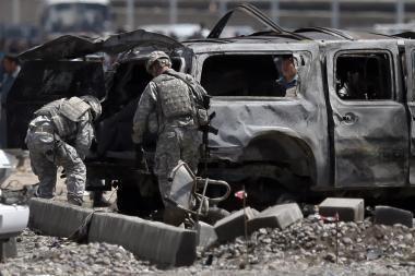 Afganistane prie Lietuvos karių automobilio sprogo užtaisas, žmonės nenukentėjo