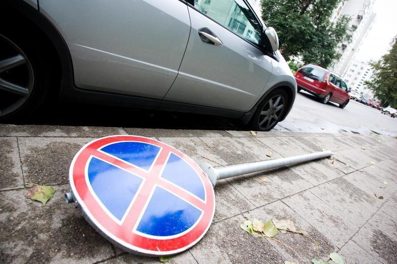 Klaipėdiečiai nerimauja dėl baudų už parkavimą