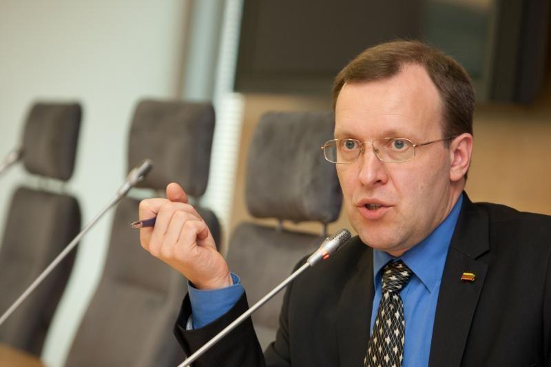 """N.Puteikis: """"MG Baltic"""" viceprezidento kandidatavimas – piktas pokštas"""