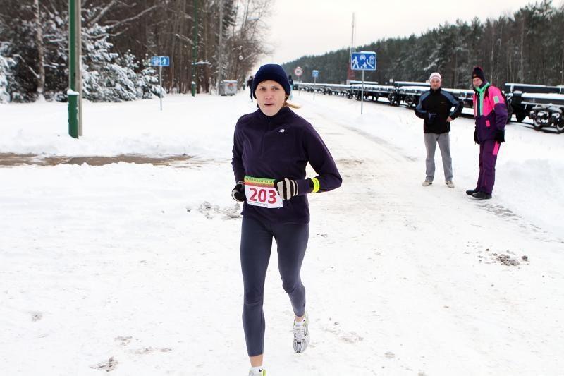 Bėgimo varžybose – A. Šliapcevo ir G. Norgilienės sėkmė