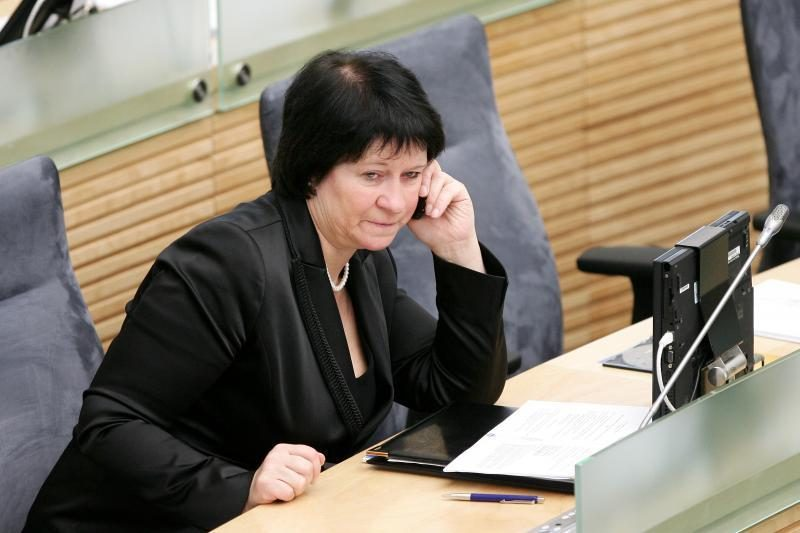 Seimo vicepirmininkė: taksi vairuotojai protestuoja patys prieš save