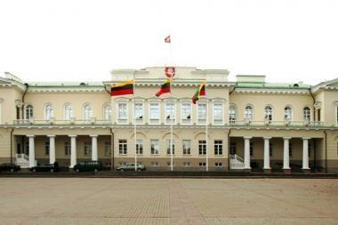 Girtas švedas bandė nusišlapinti ant Prezidentūros sienos