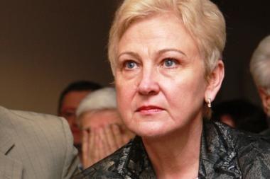 Seimo pirmininkės I.Degutienės populiarumas šoktelėjo 13 kartų