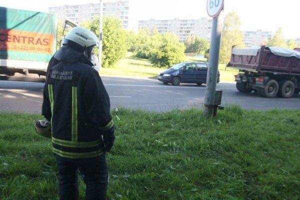 Vilniuje per avariją nukentėjęs vairuotojas mirė ligoninėje