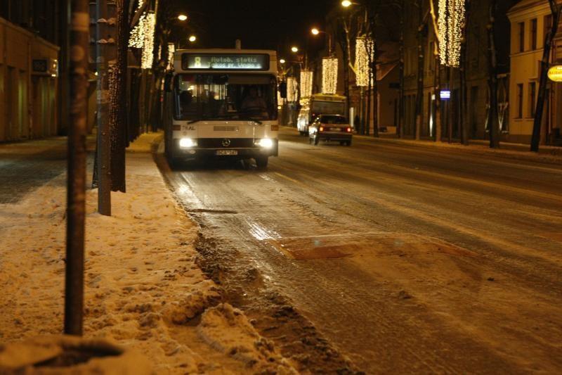 Klaipėdos kelininkai neišlaikė pirmojo rimtesnio egzamino (papildyta)