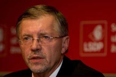 G.Kirkilas nekandidatuoja į partijos pirmininko postą