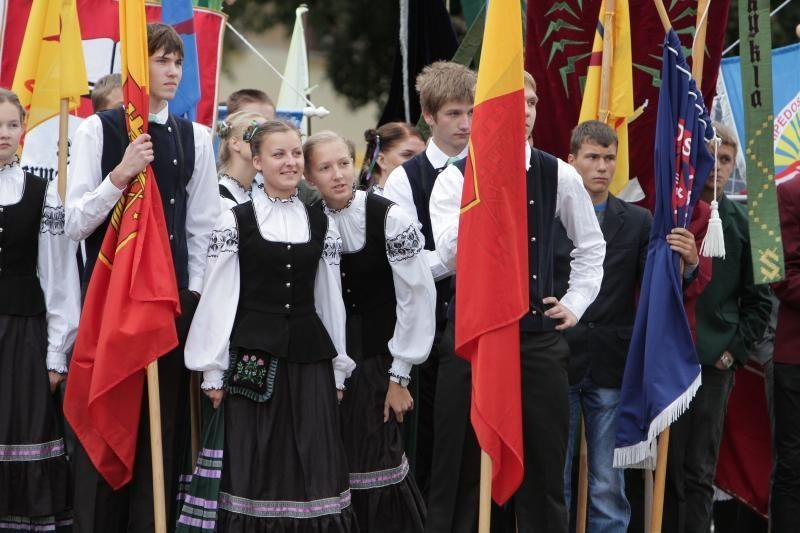 Klaipėdos moksleiviai rinkosi į Pirmąją pamoką