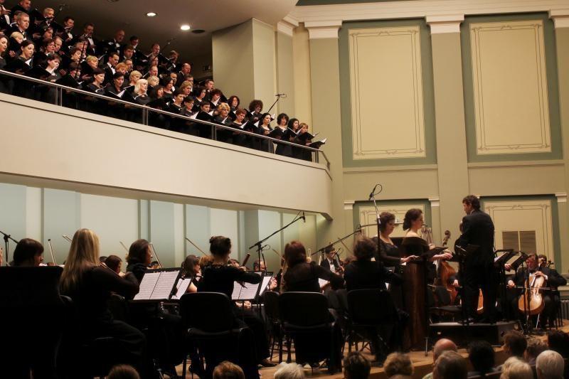 Kauno simfoninis orkestras lieka be dirigento