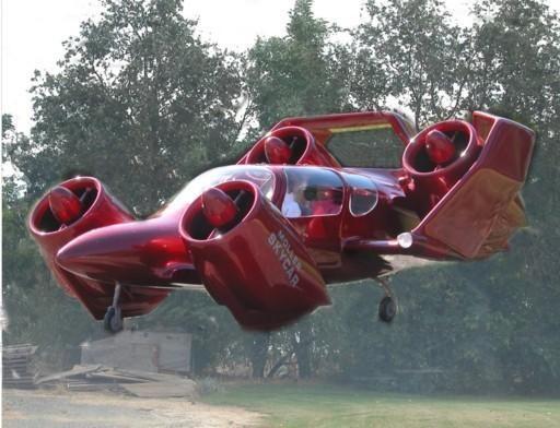 """Milijardinės kinų investicijos – į skraidančius aviamobilius """"Skycar"""""""