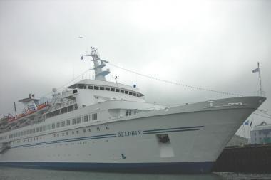 """Kruizinės laivybos sezoną atidarys – """"Delphin"""""""