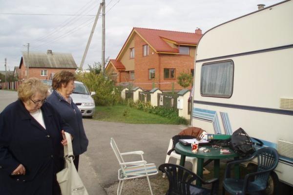 Klonio gatvės budėtojai jau turi namelį ant ratų