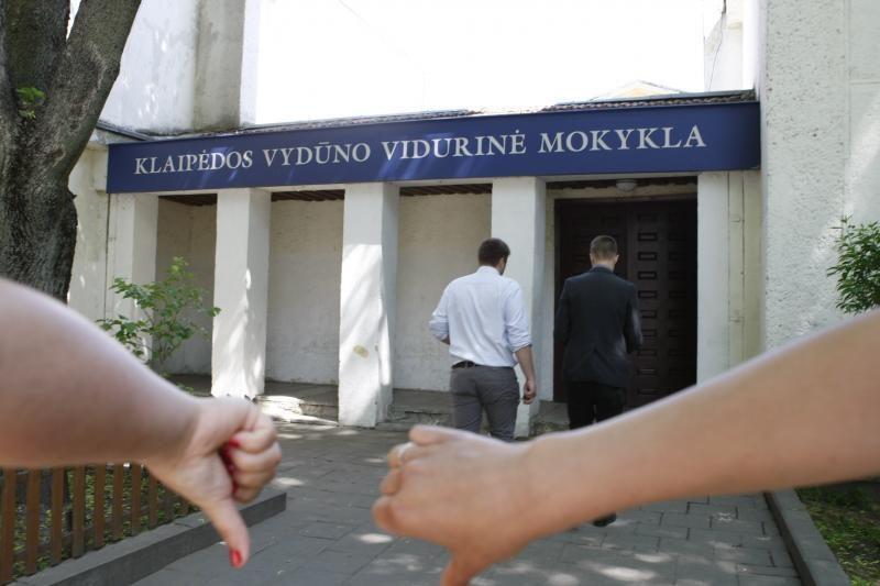 Klaipėdoje panaikinta paskutinė vidurinė mokykla
