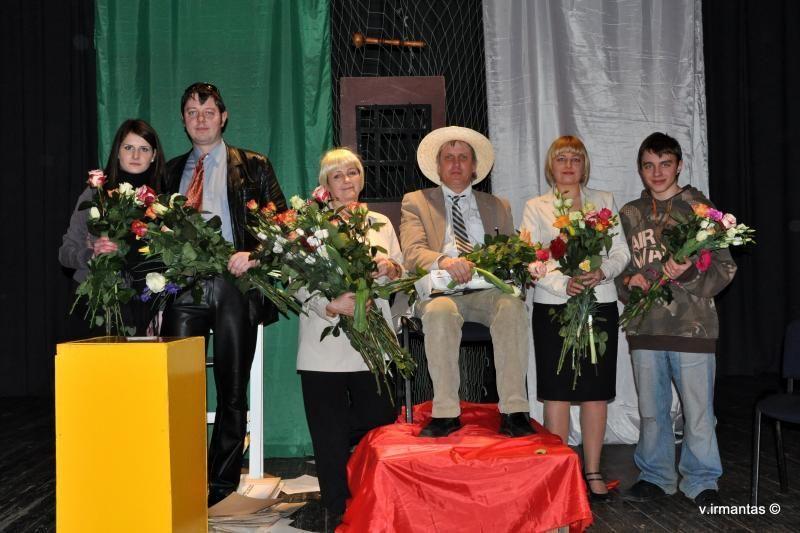 Žemaičių teatras vaidins publikai Klaipėdoje
