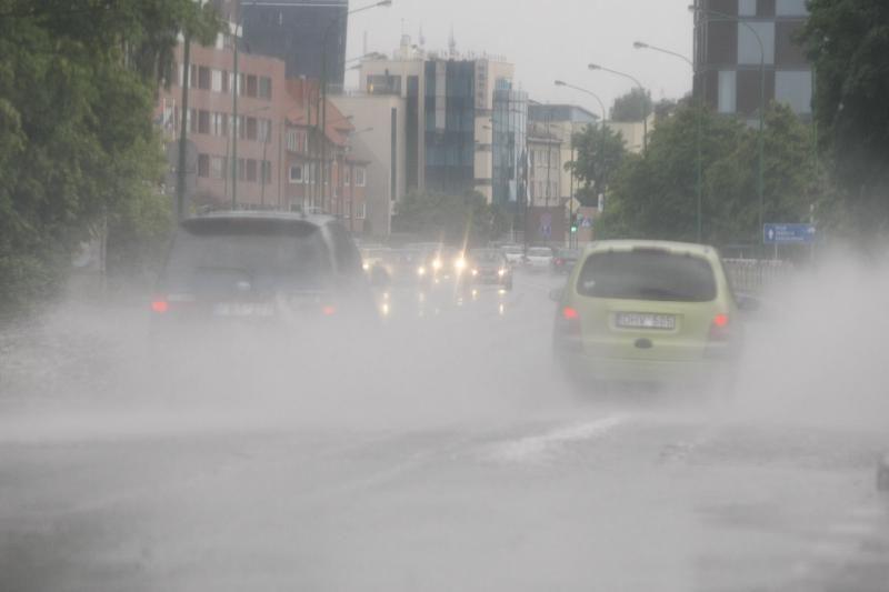 Klaipėdoje iškrito pavojingas kritulių kiekis