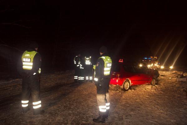 Per avariją Vilniuje žuvo taksi keleivis
