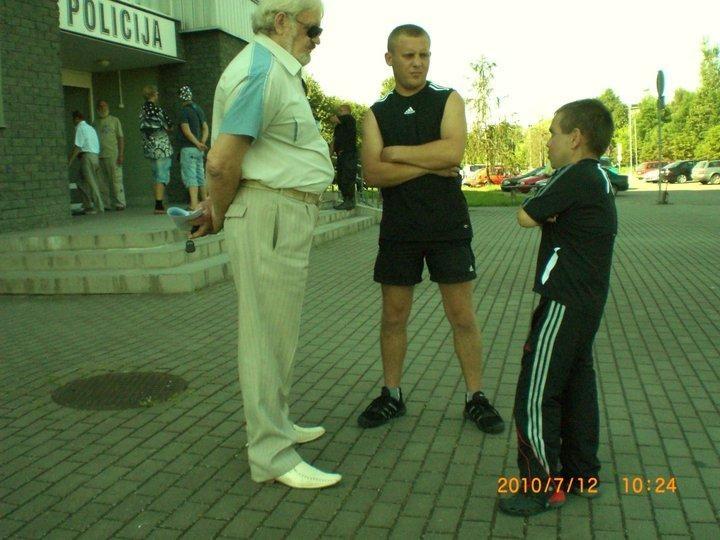 L.Stankūnaitė per susitikimus su dukra nebendrauja