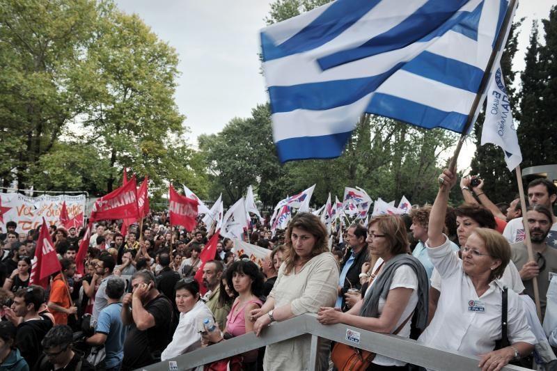 Graikijoje – nedarbo lygio rekordas