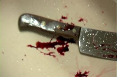 Vilniuje vyras sužalotas peiliu į kaklą