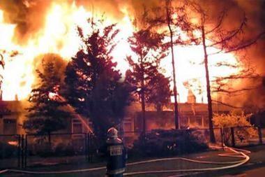 Lenkijoje sulaikyti ugniagesiai padeginėtojai