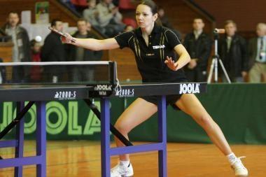 R.Paškauskienė Europos stalo teniso čemionate dvejetų varžybose užsitikrino bronzą