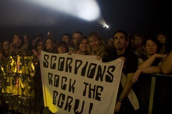 "Vilniuje šėlo ""The Scorpions"""
