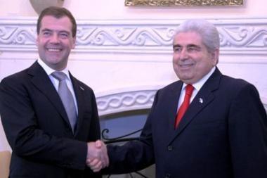 Kipro prezidentas: Rusija visada yra mano širdyje