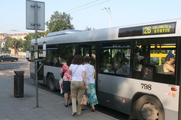 A. Zuokas transporto reformos kritikų į numatytą salę neįleido