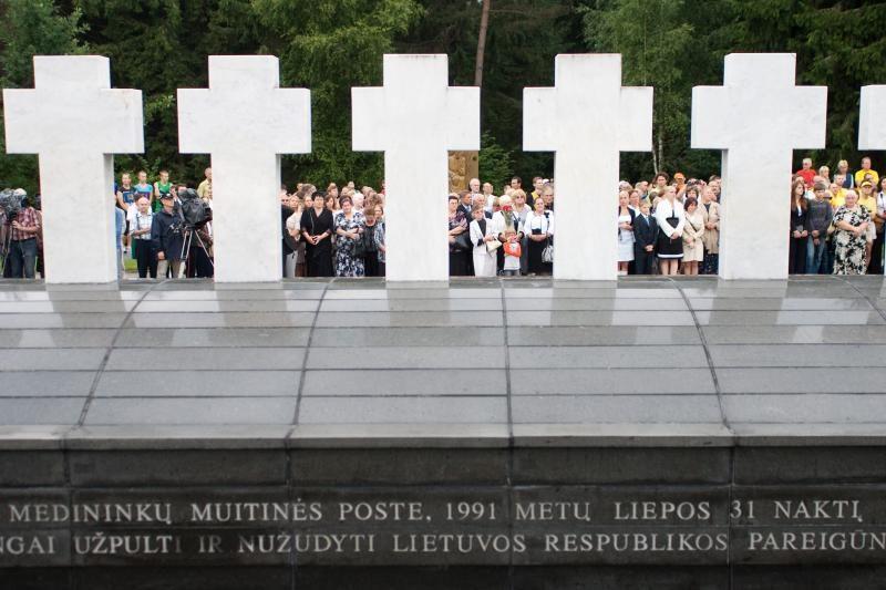 Lietuvoje minimos Medininkų tragedijos 22-osios metinės