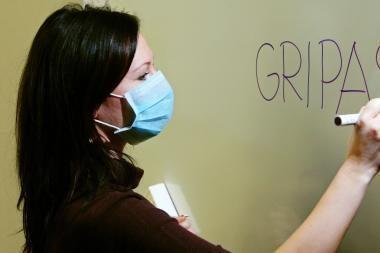 Klaipėdoje per savaitę – tik vienas gripo atvejis