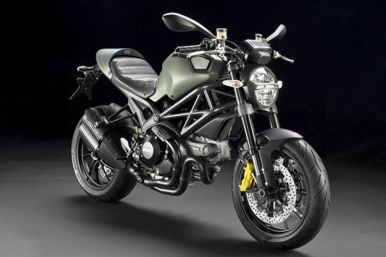 """""""Ducati"""" akibrokštas - dyzelinis motociklas"""