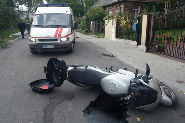 Klaipėdoje sužaloti dviratininkas ir motociklininkas
