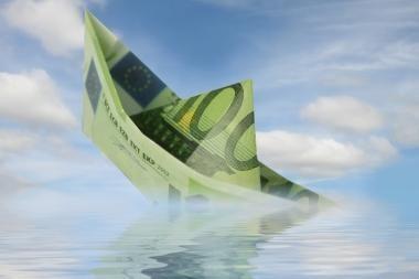 Didžiosios Britanijos bankai rugpjūtį suteikė mažiausiai paskolų per pusantrų metų