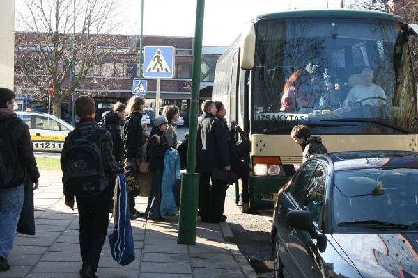 J.Karoso mokyklos muzikantai išvyko į Latviją