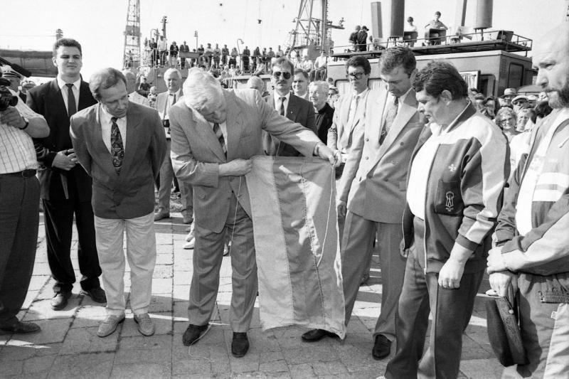 """""""Lietuvos"""" žygiui aplink pasaulį – dvidešimt metų (archyvinės foto)"""