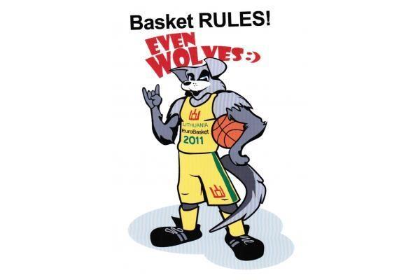 """Eurobasket 2011"" talismano rinkimuose - dešimt kandidatų"