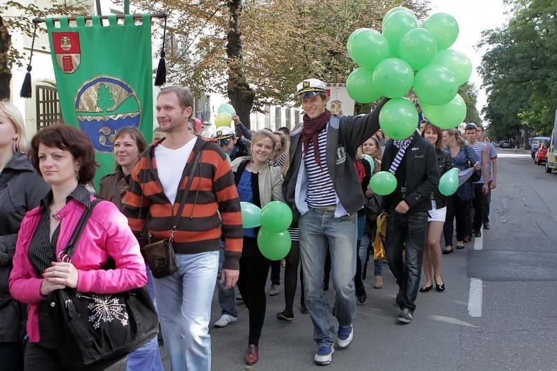 Klaipėdos universitetas sveikins uostamiestį (programa)