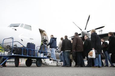 Palangos oro uoste keleivių šiemet sumažėjo 3 proc.