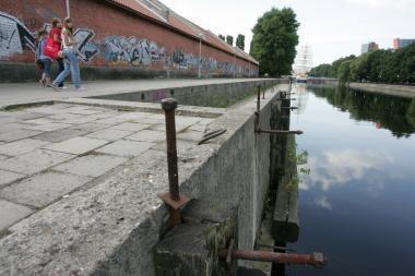 Iš Danės upės ištraukta skenduolė