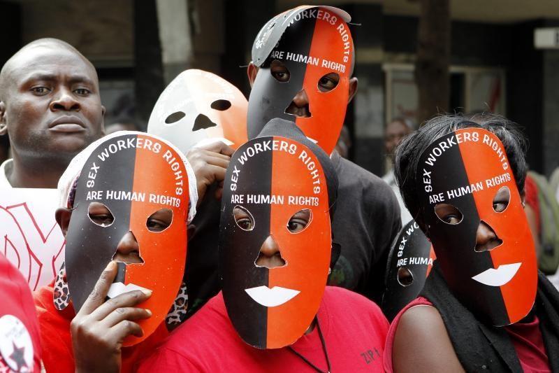 Kenijoje demonstraciją surengė prostitucijos legalizavimo šalininkai