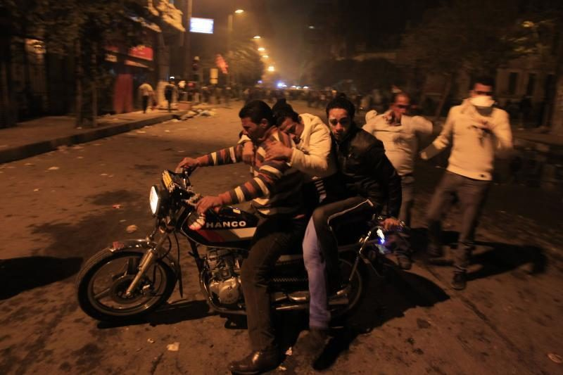 Egipte protestantams susirėmus su policija nušauti du žmonės
