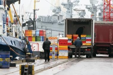 Žvejai iš žuvų aukciono neatgauna skolų
