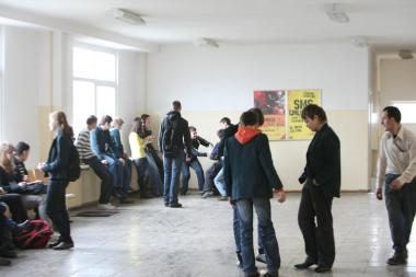 Dešimt procentų Klaipėdos mokinių - serga